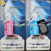 2013 New product wholesale paper airline luggage tags