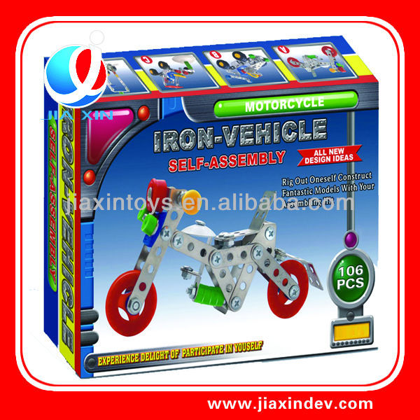 self assemble toys motorbike model for sale