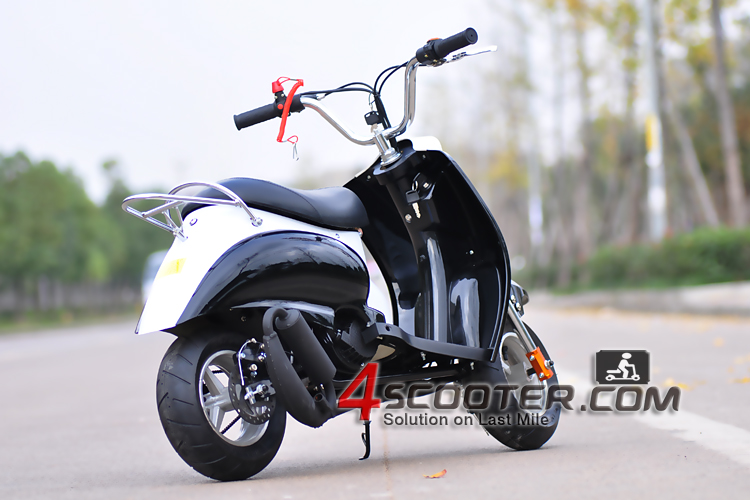 2017 Hot Sale Vintage China 49cc Gas Scooter