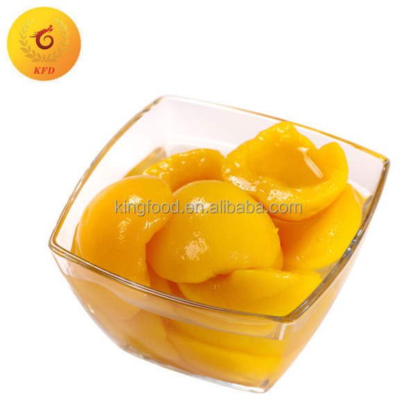425g Fresh Canned Yellow Peach Halves/Dice/Slice in Light Syrup