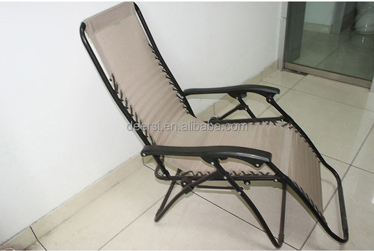 hot sale net cloth or cotton canvas comfortable best recliner chair, zero gravity chair