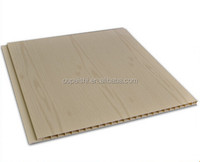 PVC Sheet with Wooden Surface for Interior Wall Decoration