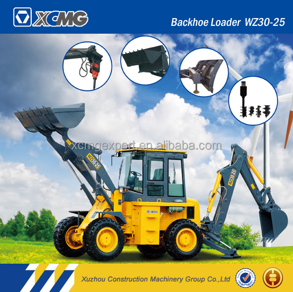 XCMG official original manufacturer XT870 small backhoe loader for sale