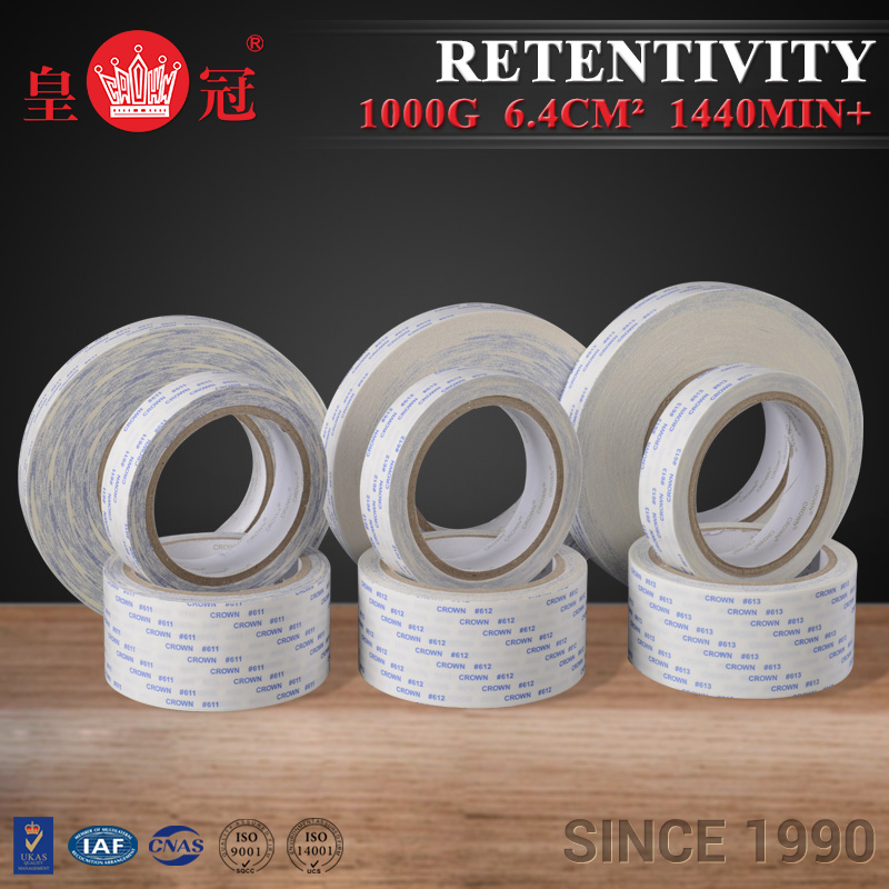 Transaction assurance Cotton removable adhesive paper