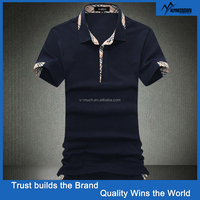 New Design 100% Men Cotton Polo Shirts Wholesale China
