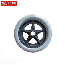 kids tricycle plastic tyre pu foam 200mm rubber wheel