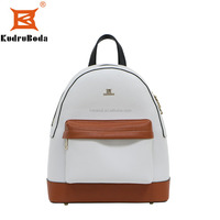 2016 latest design microber leather casual women backpack