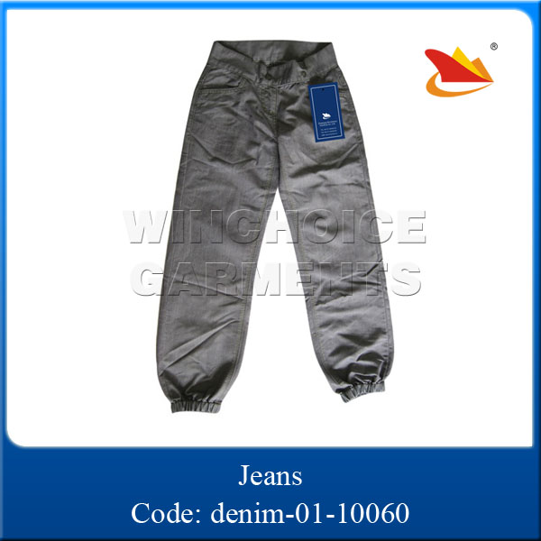 2015 fashion youth leisure original design wholesale high waist jeans parts
