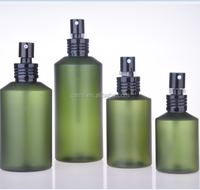 new style cosmetic shampoo green plastic clear pet bottle 200ml