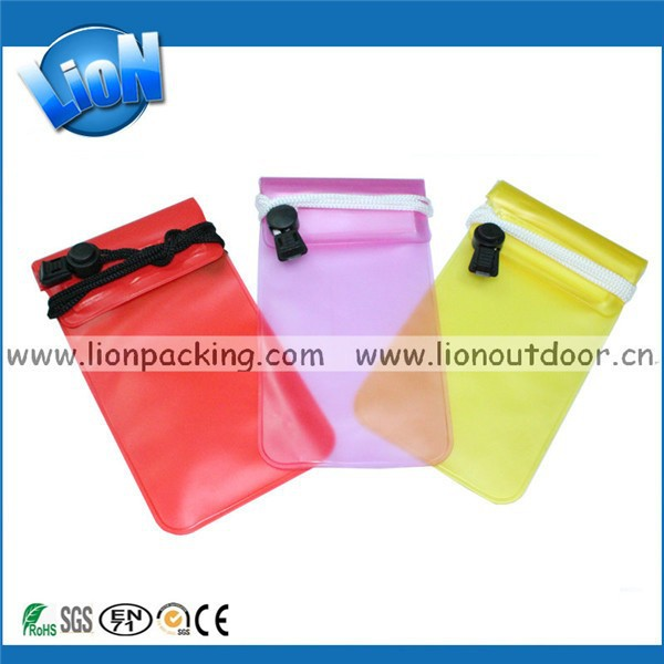Android Phone Waterproof Bag PVC Pouch for Swimming Seaside Sports