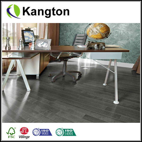 HDF core 3-ply engineered natural wood flooring