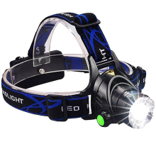 T6 Led Headlamp Zoomable Headlight Waterproof Head Torch flashlight Head lamp Fishing Hunting Light