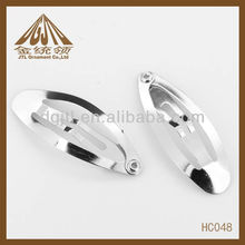 Hair accessories oval PP clip 35mm