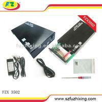 USB 2.0 3.5 wireless hdd box SATA Hard drive Enclosure 2TB