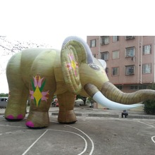 Customized Giant Inflatable Elephant Animals replica for sale