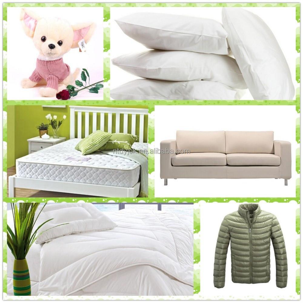 gro handel polyester polyfill f llung f r kissen und matratze china hersteller industriestoff. Black Bedroom Furniture Sets. Home Design Ideas