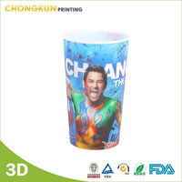 Hot Sale,Excellent Quality Soft Pvc 3D Cartoon Drinking Mug/Plastic Cup/Children Cup