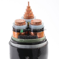 3 cores XLPE insulation steel armoured power cable