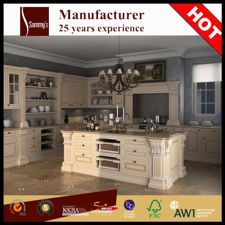 Ak1636 lujo cocinas y muebles de cocina china precio de for Cocinas precios fabrica
