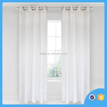 2016 fashion style window curtain,filmy window curtain,ready made curtain made in china