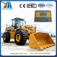 High precision electronic wheel weight machine with two hydraulic sensors