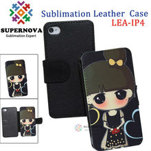 Sublimation Leather Case for iPhone4