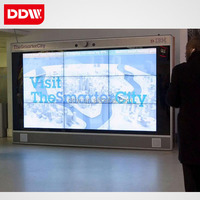 65 inch ultra narrow bezel 3x3 innolux lcd video wall display low price