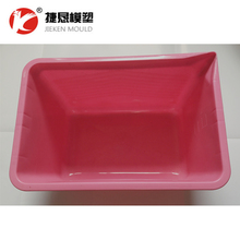 8L plastic square water bucket injection mould