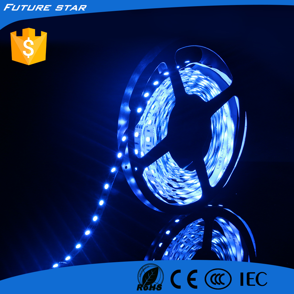 New price SMD3528 60leds/m blue 12v cheap led strip light for clothes