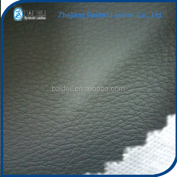 beautiful novel design high quality polyester faux leather for car upholstery