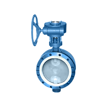 cheap price ductile iron worm gear operated flange connection plastic lined butterfly valve dn500