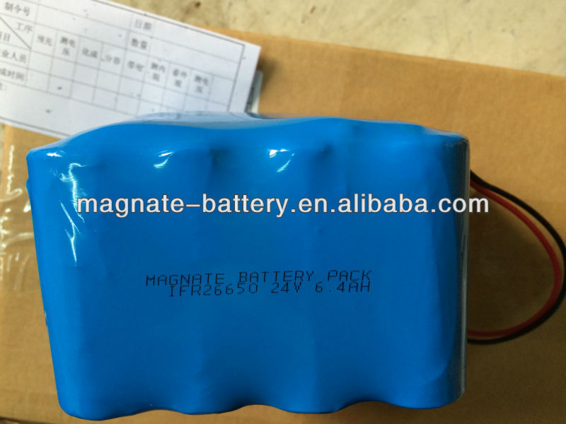 26650 lifepo4 battery pack 24volts