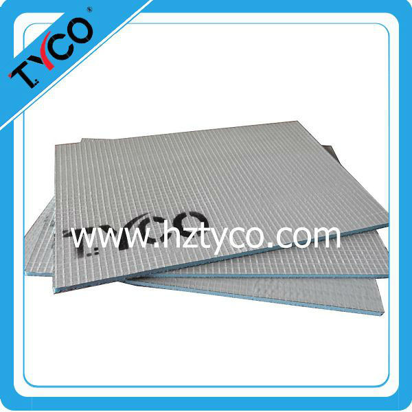 Under tile electric heating system