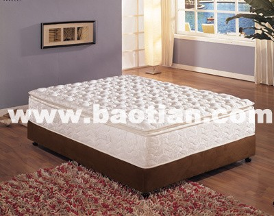 Baotian pocket spring mattress withmemory foam bed room mattress