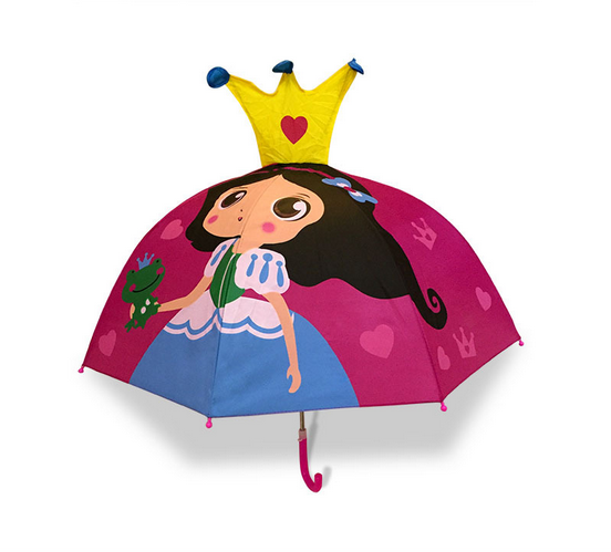 cartoon Christmas giftgift umbrella