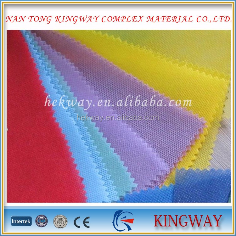 china supply polyester Material nonwoven fabric/film and laminating