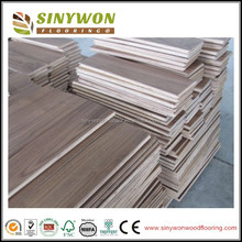UV Coating 120mm Multi-layer American Walnut Hardwood Flooring