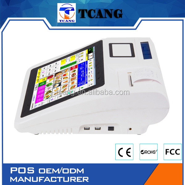Tuocang TA-TOUCH1208 Let You Get More Profit Led mifare windows or android pos terminal for KTV
