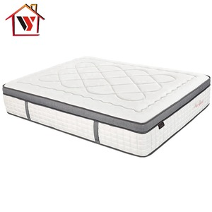 Bedroom Furniture Memory Foam 12 Inches Thickness King Size Sleep Easy Pocket Spring Mattress