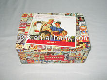 Rectangle bread tin box
