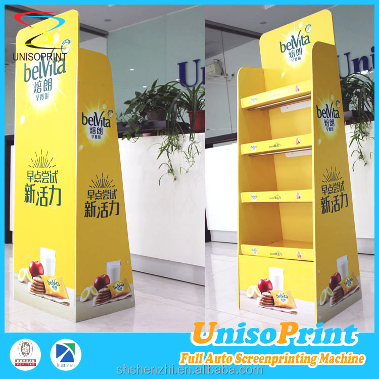 custom coroplastic display case for promotion