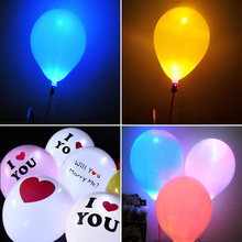 72 Hours LED Latex Balloons Good Quality LED light rubber balloon