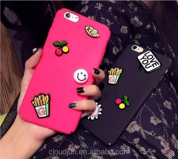 Colorful mobile phone cases for iphone 7 case back cover matte for iPhone7