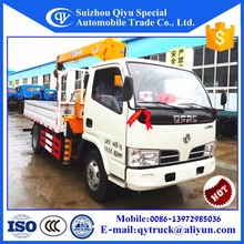 Factory directly sell Mini Cargo Crane used hiab trucks Pickup Truck Crane with Low Price