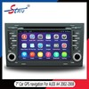 7 inch gps navigation for AUDI A4 2002-2008 with car dvd player in dash