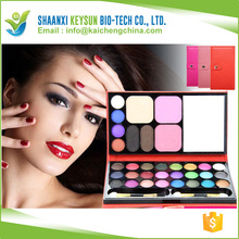 Wallet shape eyeshadow palette with mirror/Fashion Desigh And Easy To Take