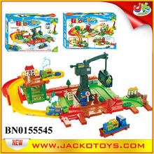 B/O Train Set RAILWAY BLOCK For Child