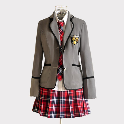 Juqian Wholesale China sexy korean school uniforms high school girl's winter school wear
