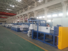pet round filament making machine/plant plastic extruder line/monofilament yarn machine