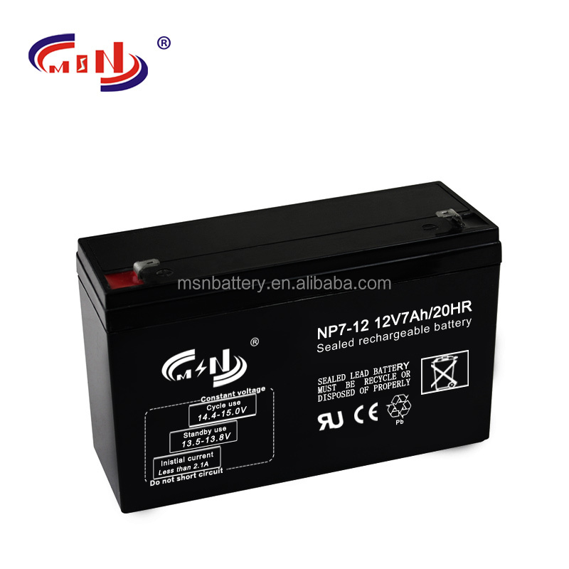 12v 7ah ups battery for trolley speaker bass weigher hopper